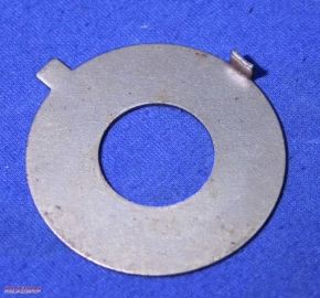 Lock washer for flywheel centre bolt