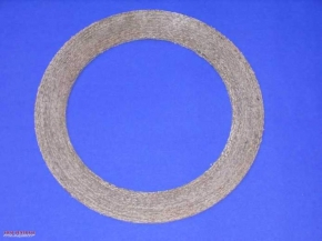 Clutch friction pad to bond