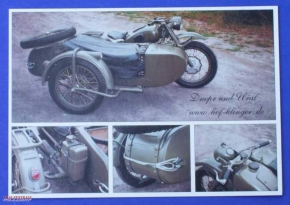 Post card M72 with 4 pictures