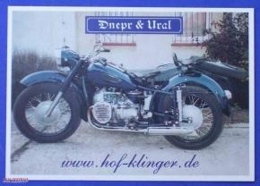 Postkarte M72 schwarz