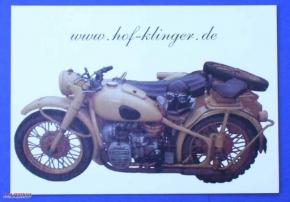 Postkarte M72 oliv