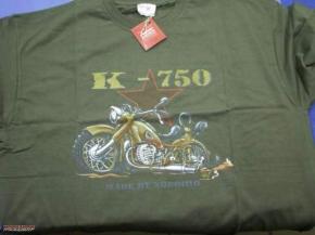 T-shirt K 750 green BUSS, size L