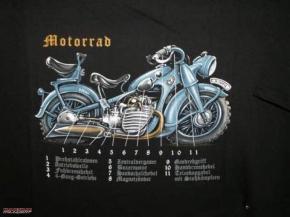 T-Shirt Motorrad BUSS, Größe M