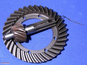 bevel/crown gear set 9-35