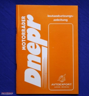 Repair manual Dnepr MT11 and MT16