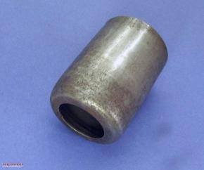 Federbeinhülse Stahl schwarz unten