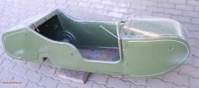 Sidecar boat Dnepr