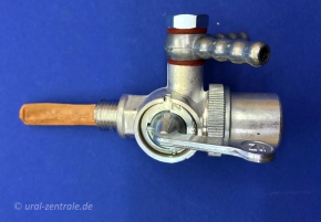 Fuel tap Dnepr, Ural, K750 'made in Germany' 2 outlets