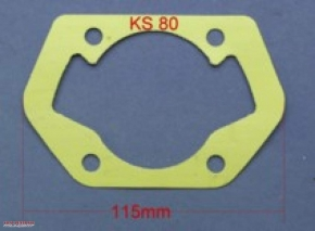 Cylinder base gasket for Zündapp KS80 etc.