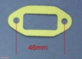 Carburettor flange gasket 46 mm